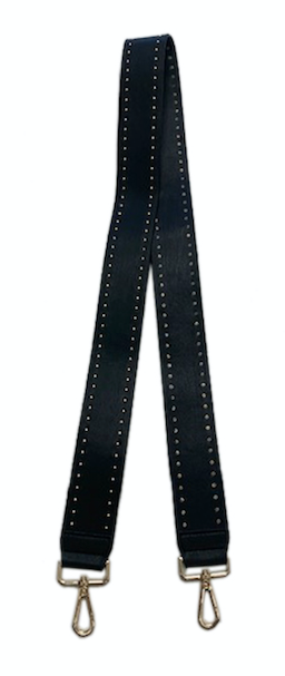 2'' Soft Faux Leather Stud Strap-NON ADJUSTABLE