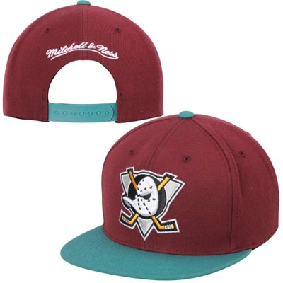 Anaheim Ducks Throwback Snapback