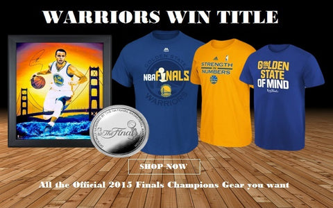 Warriors NBA Championship Gear