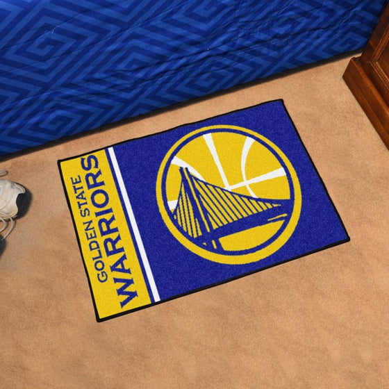 Golden State Warriors Starter Mat (Style 2)