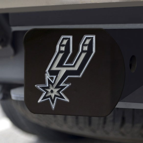 San Antonio Spurs Hitch Cover (Style 3)
