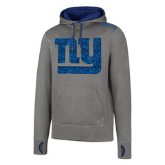 NEW YORK GIANTS WOLF GREY FORWARD HOODED PULLOVER SWEATSHIRT MENS SIZE XL