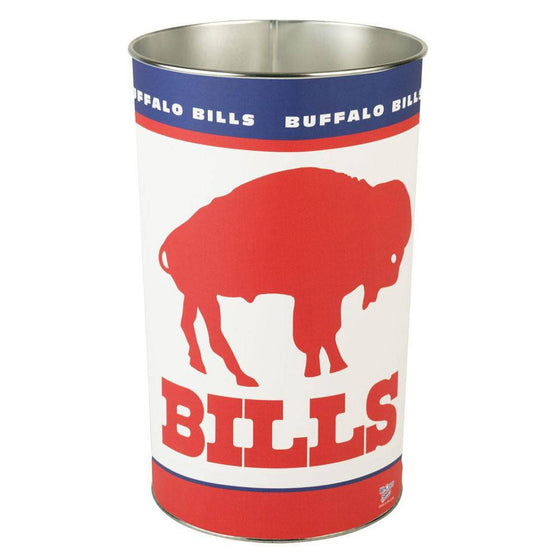 "NFL Buffalo Bills Throwback 15"" Waste Basket"