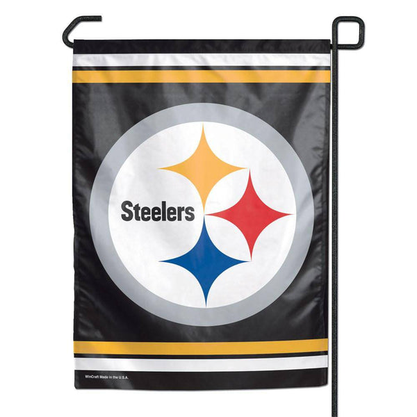 "Pittsburgh Steelers Small Garden Flag 11""x15"""