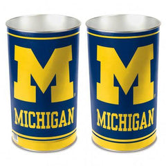 "Michigan Wolverines 15"" Waste Basket (CDG)"