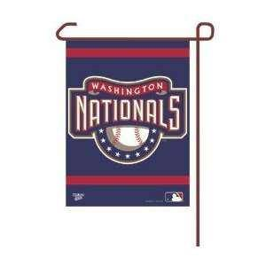 "Washington Nationals Small Garden Flag 11""x15"" Spelled Out"
