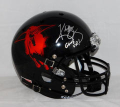 Kliff Kingsbury Signed Texas Tech Red Raiders F/S Helmet W/ Guns Up- JSA W Auth