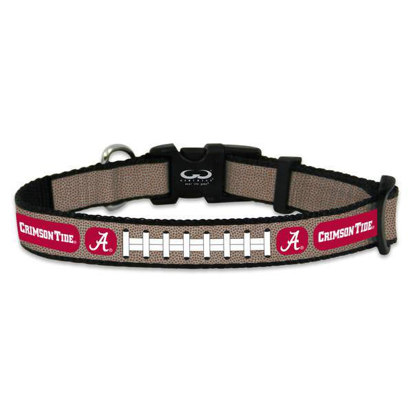 Alabama Crimson Tide Reflective Small Football Collar (CDG)