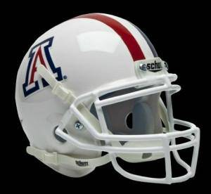 Arizona Wildcats Schutt Mini Helmet - Alternate Helmet #1 (CDG)
