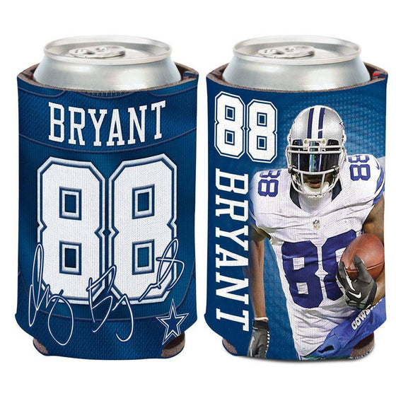 NFL Dallas Cowboys Dez Bryant Neoprene Can Coolor Koozie