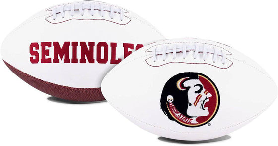 Florida State Seminoles Football Full Size Embroidered Signature Series (CDG)