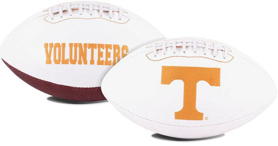 Tennessee Volunteers Football Full Size Embroidered Signature Series (CDG)