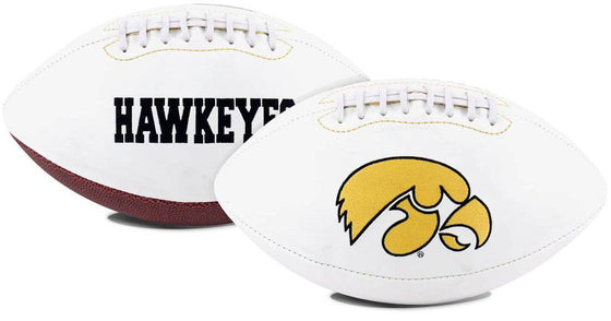 Iowa Hawkeyes Football Full Size Embroidered Signature Series (CDG)
