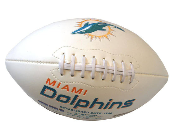 Miami Dolphins Football Full Size Embroidered Signature Series (CDG)