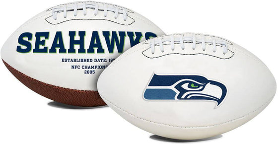 Seattle Seahawks Football Full Size Embroidered Signature Series (CDG)