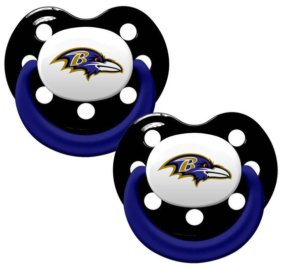 Baltimore Ravens Orthodontic 2 Pack Pacifier