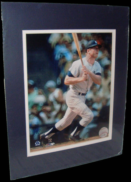 Mickey Mantle New York Yankees Matted 8x10 Photo Picture Poster Print