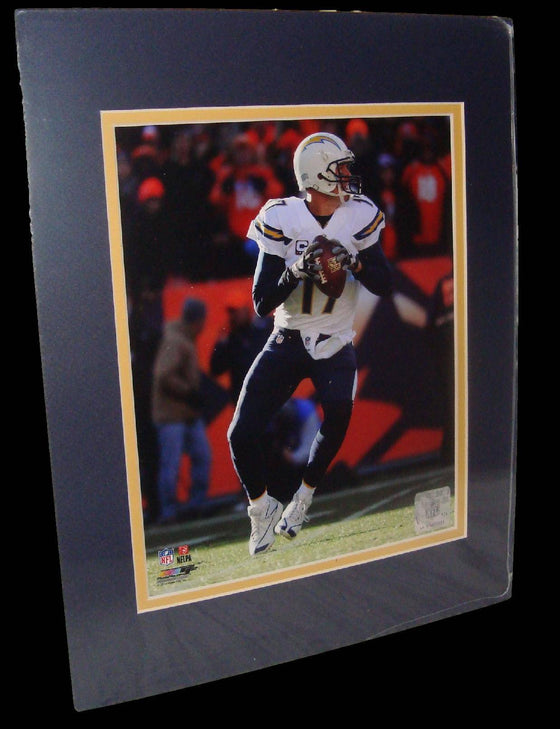Philip Rivers San Diego Chargers White Matted 8x10 Photo Picture Poster Print