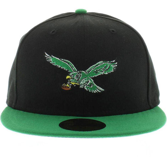 NFL Philadelphia Eagles New Era 9Fifty Two Tone Throwback Snapback Hat