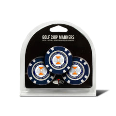 Illinois Fighting Illini 3 Pack Golf Chip Ball Markers