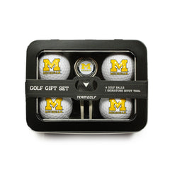 Michigan Wolverines 4 Golf Ball And Divot Tool Set
