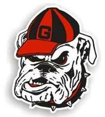"Georgia Bulldogs 12"" Bulldog Car Magnet (CDG)"