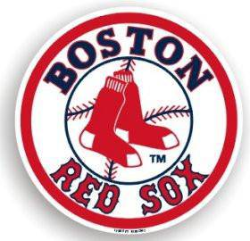 "Boston Red Sox 12"" Car Magnet (CDG)"