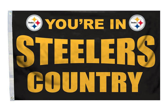 Pittsburgh Steelers Flag 3x5 Country (CDG)
