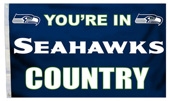Seattle Seahawks Flag 3x5 Country (CDG)
