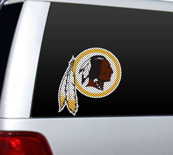 Washington Redskins Large Die-Cut Window Film (CDG)