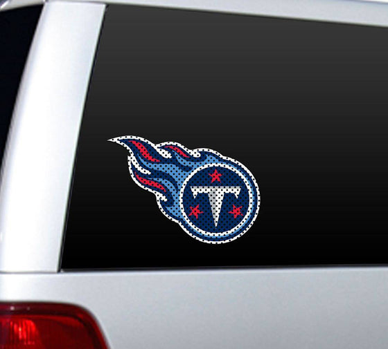 Tennessee Titans Large Die-Cut Window Film (CDG)