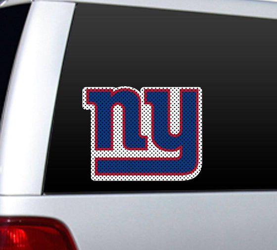 New York Giants Large Die-Cut Window Film (CDG)