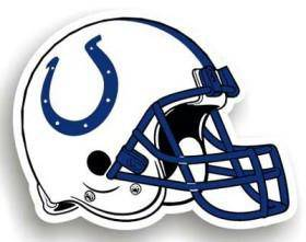 "Indianapolis Colts 12"" Helmet Car Magnet (CDG)"
