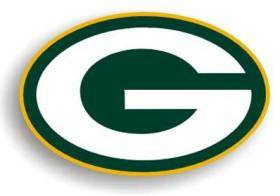 "Green Bay Packers 12"" Logo Car Magnet (CDG)"