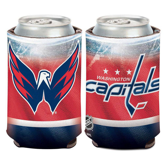 NHL Washington Capitals Neoprene Can Coolor Koozie - 757 Sports Collectibles