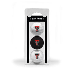 Texas Tech Red Raiders 3 Golf Ball Pack