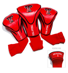 Texas Tech Red Raiders 3 Pack Contour Head Covers