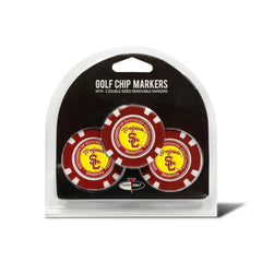 USC Trojans 3 Pack Golf Chip Ball Markers
