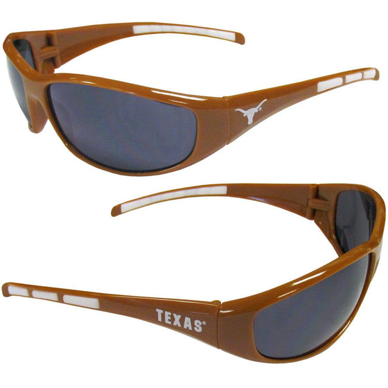 Texas Longhorns Wrap Sunglasses (SSKG) - 757 Sports Collectibles