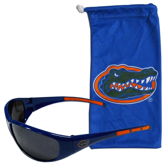 Florida Gators Sunglass and Bag Set (SSKG)