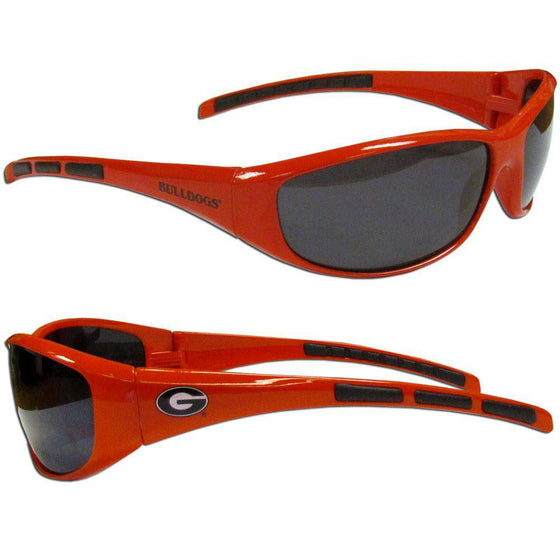 Georgia Bulldogs Wrap Sunglasses (SSKG) - 757 Sports Collectibles