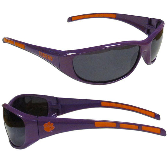 Clemson Tigers Wrap Sunglasses (SSKG)