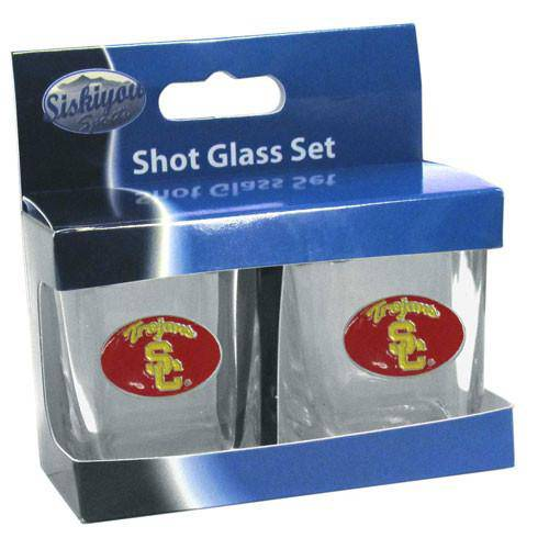 USC Trojans Shot Glass Set (SSKG) - 757 Sports Collectibles
