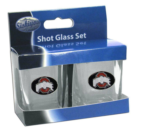 Ohio St. Buckeyes Shot Glass Set (SSKG) - 757 Sports Collectibles