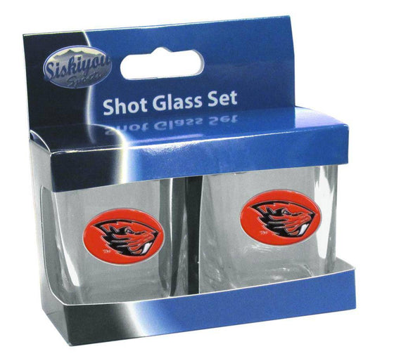 Oregon St. Beavers Shot Glass Set (SSKG) - 757 Sports Collectibles