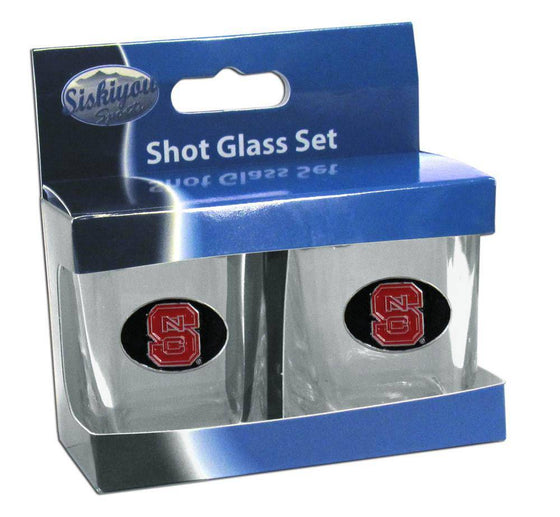 N. Carolina St. Wolfpack Shot Glass Set (SSKG)