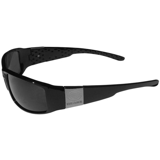 Chicago Bears Chrome Wrap Sunglasses (SSKG) - 757 Sports Collectibles