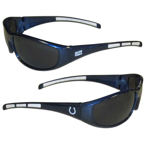 Indianapolis Colts Wrap Sunglasses (SSKG) - 757 Sports Collectibles