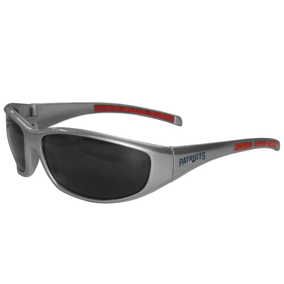 New England Patriots Wrap Sunglasses (SSKG) - 757 Sports Collectibles