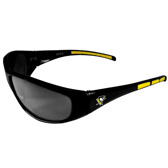 Pittsburgh Penguins�� Wrap Sunglasses (SSKG) - 757 Sports Collectibles